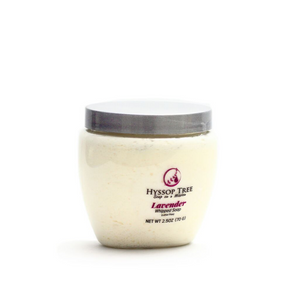 Handmade whipped soap with lavender essential oil by Hyssop Tree