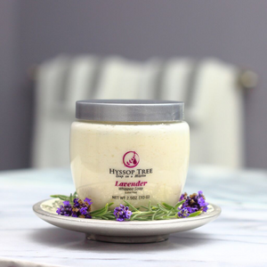 Natural Lavender Whipped Soap by Hyssop Tree