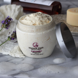All-Natural Handmade Whipped Soap with Lavender by Hyssop Tree