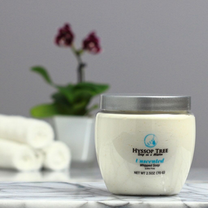 True Unscented Whipped Soap by Hyssop Tree
