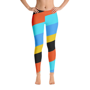 RAINBOW WORLD LEGGINGS - Allur-Boutique