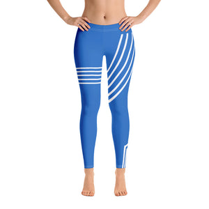 THE DEEP BLUE SEA LEGGINGS - Allur-Boutique