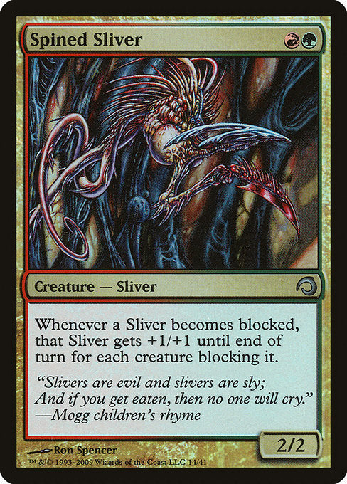 Spined Sliver [Premium Deck Series: Slivers] | Gam3 Escape