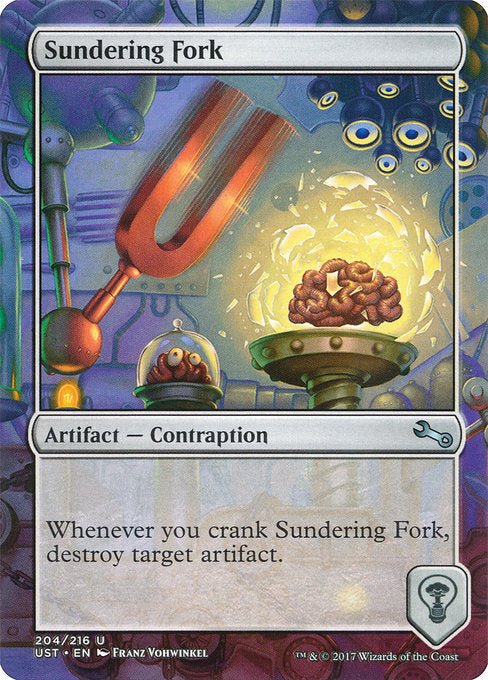 Sundering Fork [Unstable] | Gam3 Escape