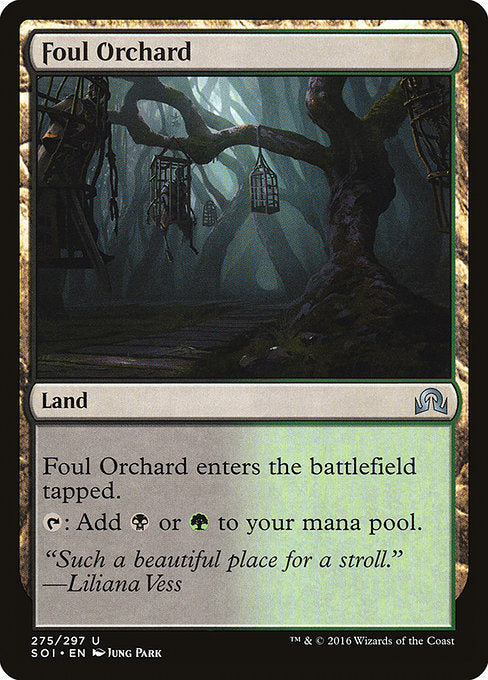 Foul Orchard [Shadows over Innistrad] | Gam3 Escape