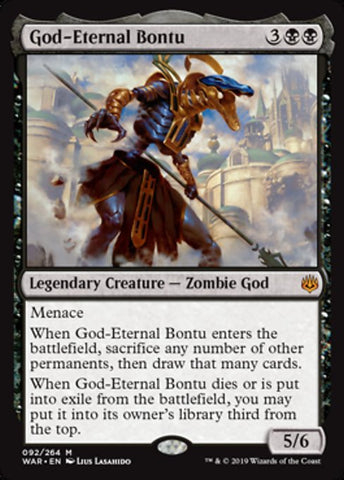 God-Eternal Bontu [War of the Spark]