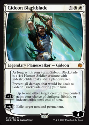 Gideon Blackblade [War of the Spark]