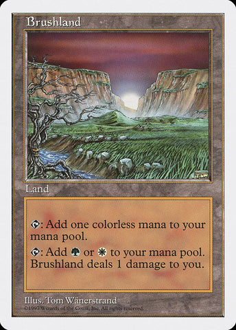 Brushland [Fifth Edition]