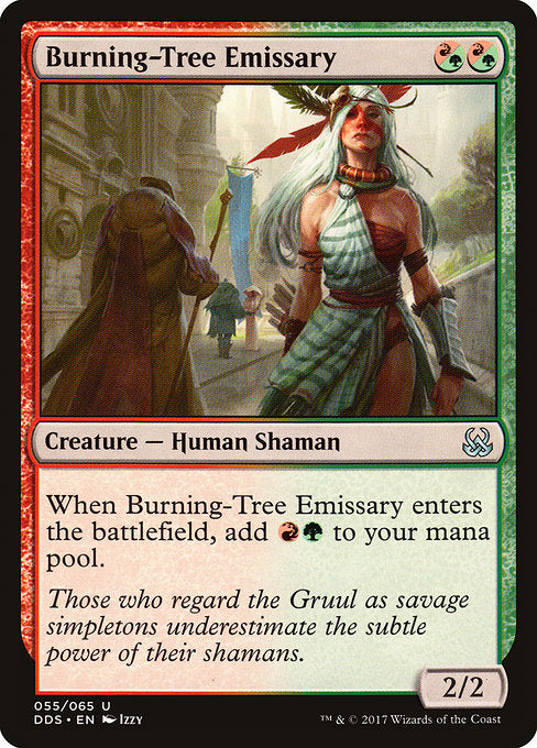 Burning-Tree Emissary [Duel Decks: Mind vs. Might] | Gam3 Escape