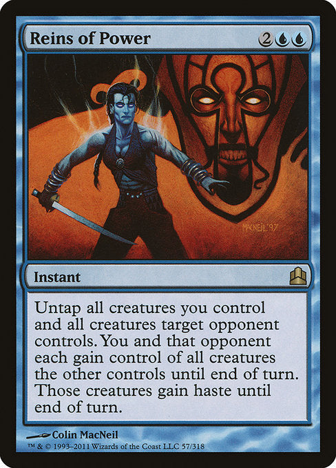 Reins of Power [Commander 2011] | Gam3 Escape