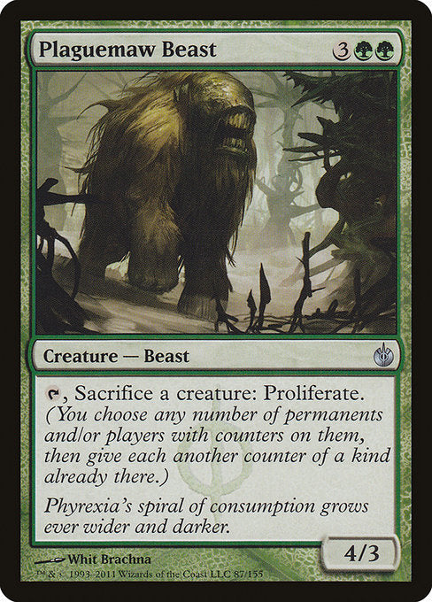 Plaguemaw Beast [Mirrodin Besieged] | Gam3 Escape