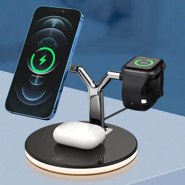3-in-1 Wireless Charger With Magsafe