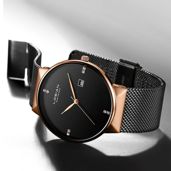 Diamond Minimalist Watch - Bringwish
