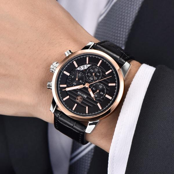 Benton Vintage Quartz Chronograph Watch