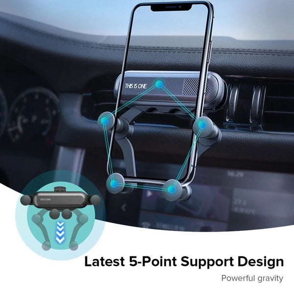 Gravity Car Phone Holder stand