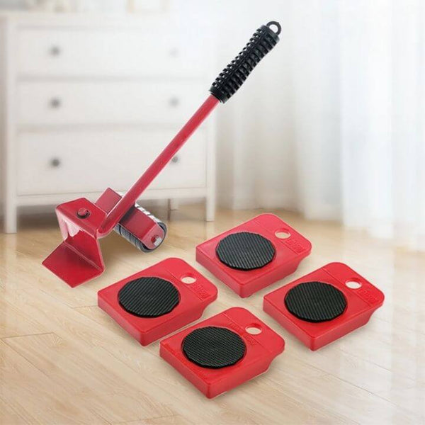 Heavy Duty Furniture Lifter Red Color-BringWish