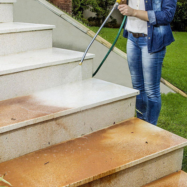 Hydro Jet High Pressure Power Washer In Use
