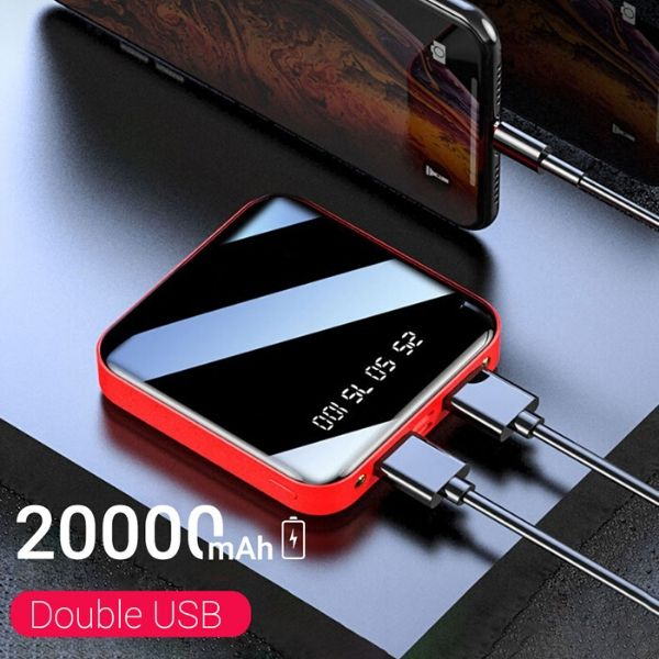 Mini Power Bank 20000 mAh dual usb