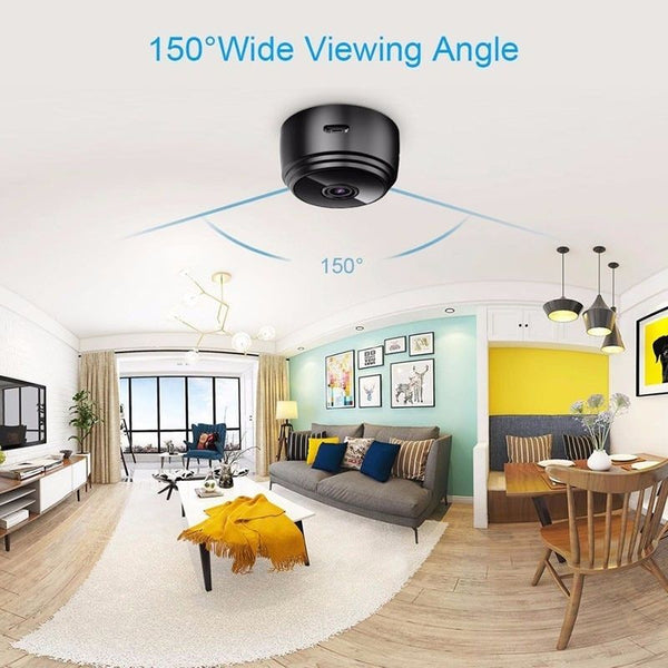 Mini Spy Wifi Camera angle viewing