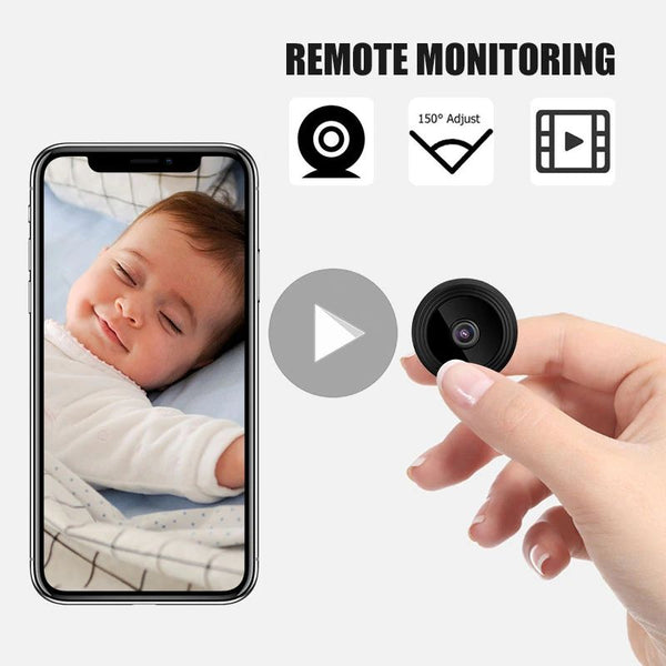 Mini Spy Wifi Camera remote