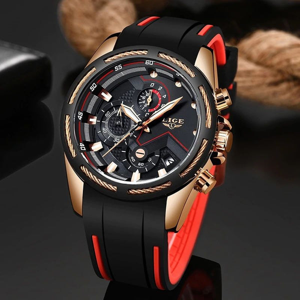 Pazone Sports Military Watch black color