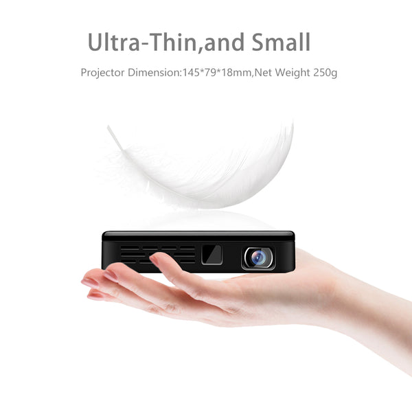 Portable Led Mini Projector ultra thin