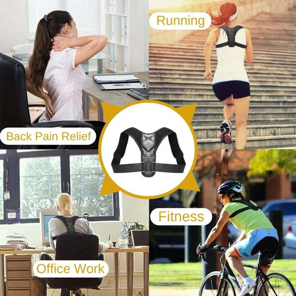 Posture Corrector Back Brace in use by peoples in many activity