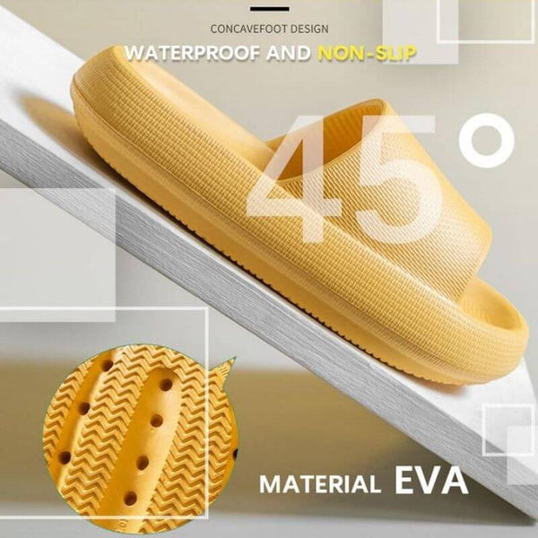 Universal Quick-drying Thickened Non-slip Sandals Concave design