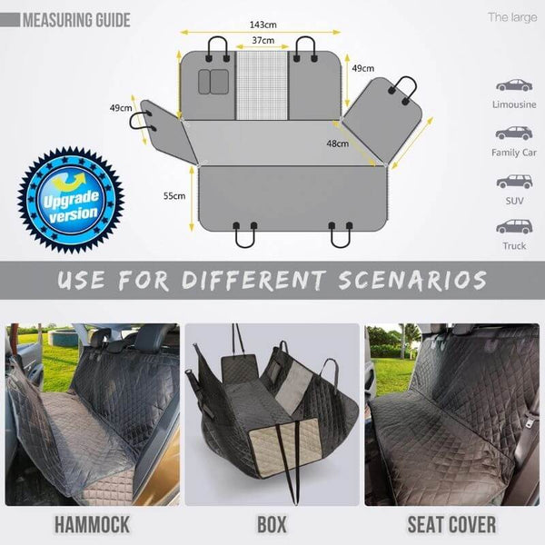 Waterproof Dog Car Seat Cover Guide
