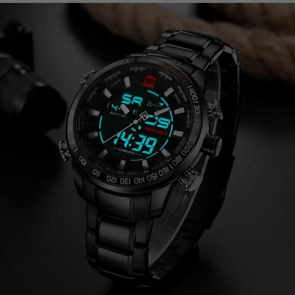 STEEL MILITARY WATCH - BRINGWISH