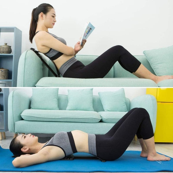 lower back pain stretcher device