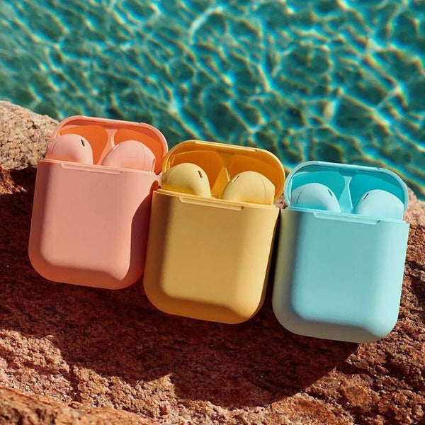 multi color Air Bud Wireless Bluetooth Earbuds