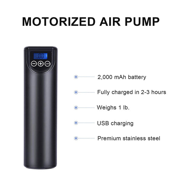 portable electric air pump detail