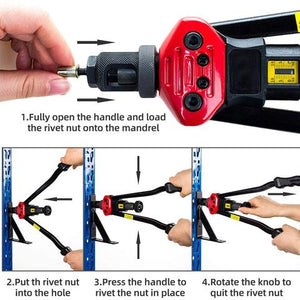 Easy Automatic Rivet Tool Set - BringWish
