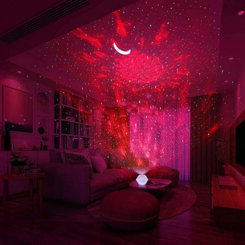 Galaxy Star Projector moon lamp