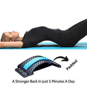 Lower Back Pain Stretcher Padded