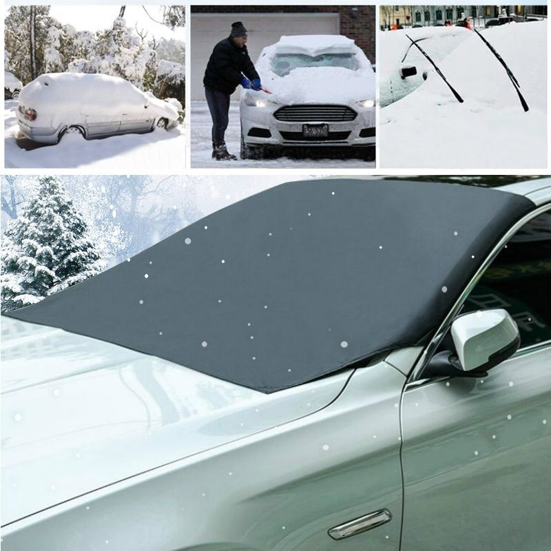 Magnetic Windshield Snow Cover