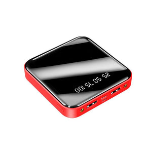 Red Mini Power Bank 20000 mAh Portable Charger