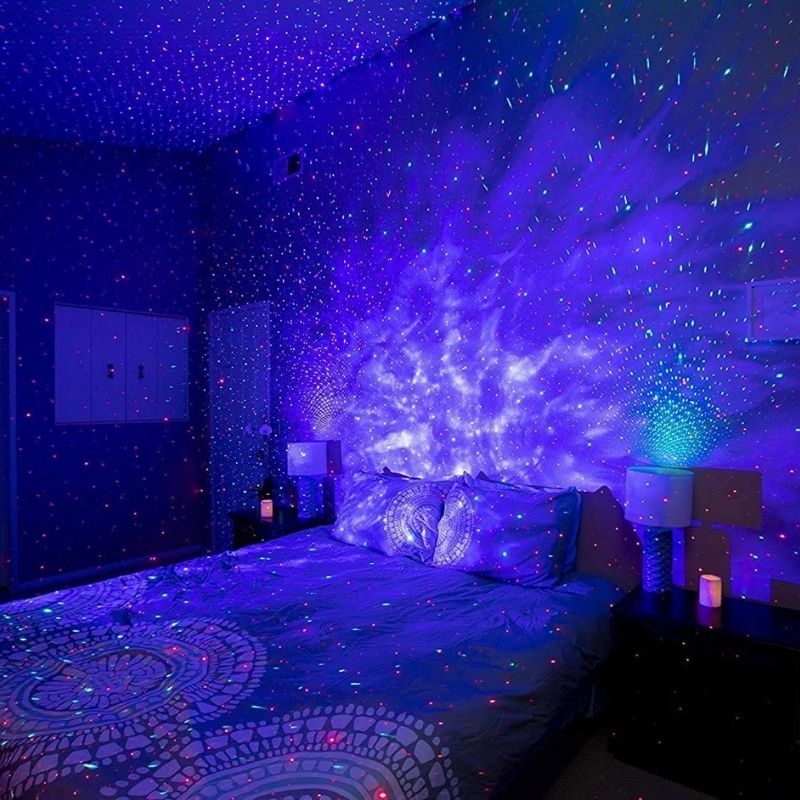 bringwish Galaxy Star Projector
