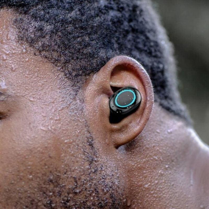 Touch Wireless Bluetooth Earbuds Waterproof