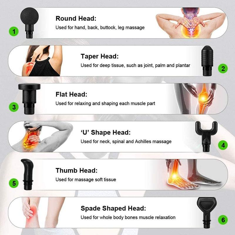 Handheld Deep Tissue Massager - BringWish