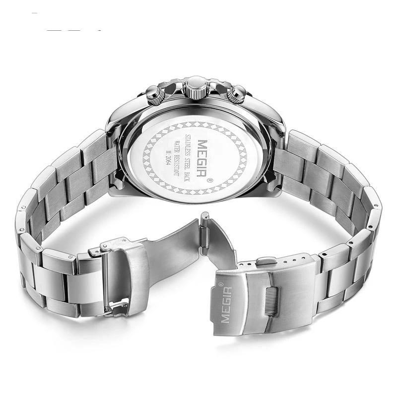 Back Barsel Chronograph Gents Watch white background