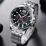 Epic Stainless Steel Chronograph Watch - BringWish