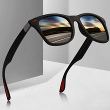 Load image into Gallery viewer, Aofly Polarized Square Aviator Sunglasses