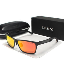Load image into Gallery viewer, Oley Polarized Aluminium Magnesium Sunglasses