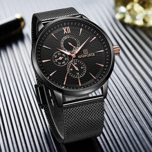 Load image into Gallery viewer, Lexico Minimalist Ultra Thin Watch Mens