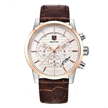 Load image into Gallery viewer, Benton Men's Vintage Quartz Chronograph Watch - Rose Gold