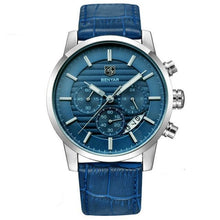 Load image into Gallery viewer, Benton Vintage Quartz Chronograph Watch - Blue
