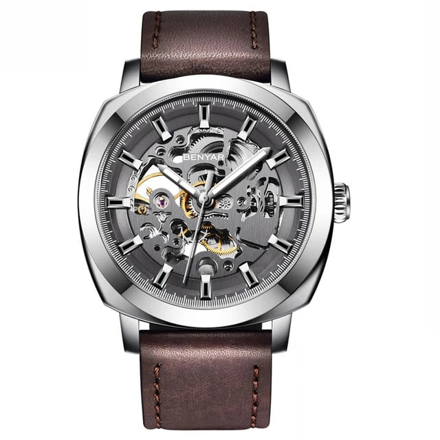Venal Skeleton Automatic Mechanical Watch