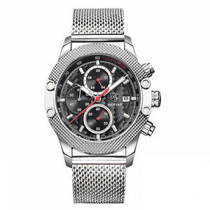 Obelisk Chronograph Stainless Steel Watch